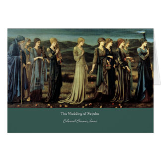 "Cartes ""Le mariage de la psyché"", par Edward Burne-Jones"