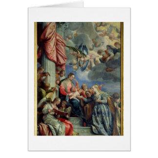Cartes Le mariage mystique de St Catherine
