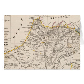 Cartes Le Maroc