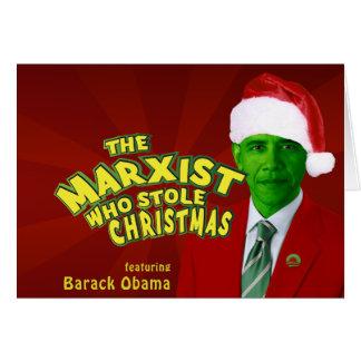 Cartes Le marxiste qui a volé Noël
