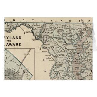 Cartes Le Maryland, Delaware, C.C