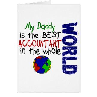 Cartes Le meilleur comptable en monde 2 (papa)