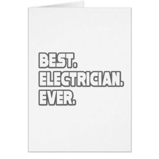 Cartes Le meilleur électricien jamais
