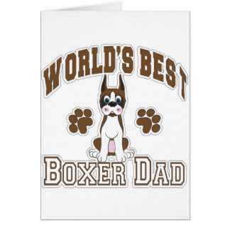 Cartes Le meilleur papa du boxeur du monde