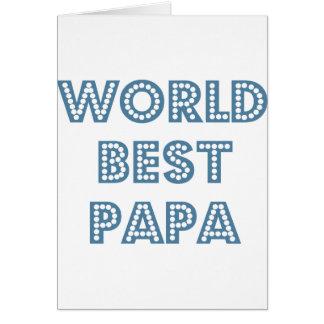 Cartes Le meilleur papa du monde
