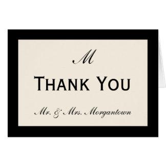 Cartes Le Merci bon marché de mariage carde votre