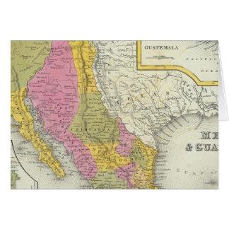 Cartes Le Mexique et le Guatemala