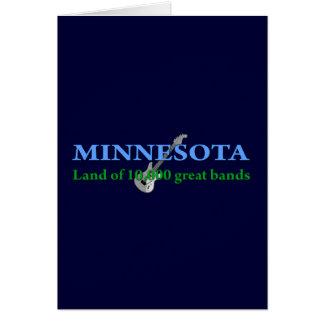 Cartes Le Minnesota - terre de 10.000 bandes