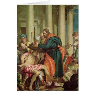Cartes Le miracle de St Barnabas, c.1566