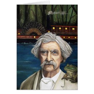 Cartes Le Mississippi Sam Aka Mark Twain