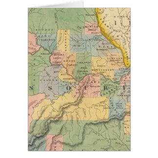 Cartes Le Missouri, l'Illinois