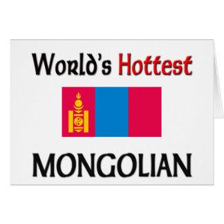 Cartes Le Mongolian le plus chaud du monde