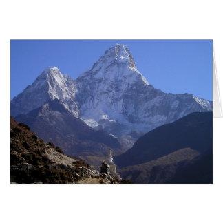 Cartes Le mont Everest 4