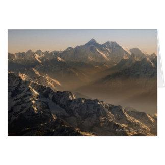 Cartes Le mont Everest, montagnes de l'Himalaya, Asie