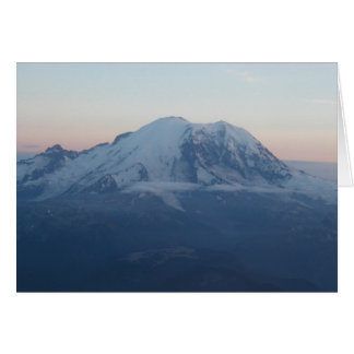 Cartes Le mont Rainier