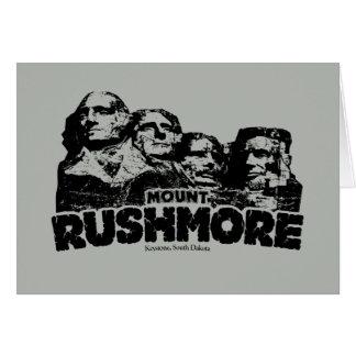 Cartes Le mont Rushmore
