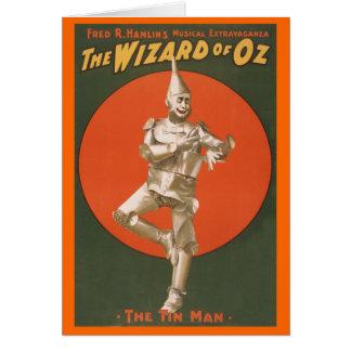 Cartes Le musical de magicien d'Oz - l'homme de bidon