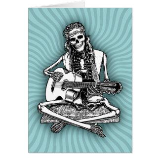 Cartes Le musicien de rue désosse II