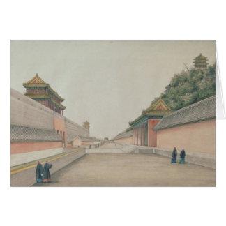 Cartes Le palais impérial à Pékin