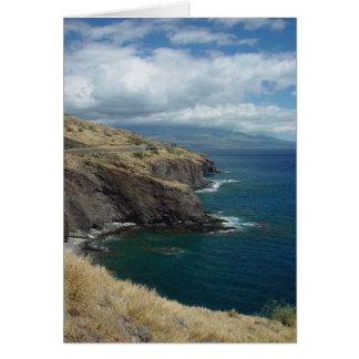 Cartes Le Pali, Maui, Hawaï