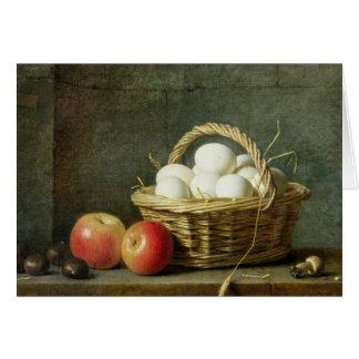 Cartes Le panier des oeufs, 1788