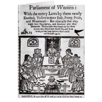 Cartes Le Parlement des femmes, 1656