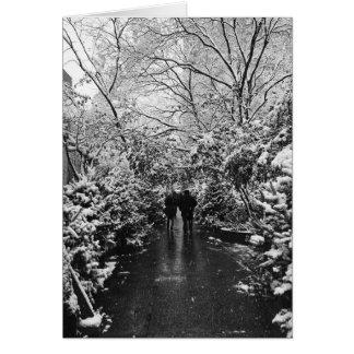 Cartes Le pays des merveilles d'hiver de NYC