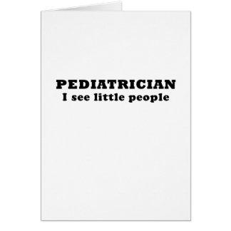 Cartes Le pédiatre I voient les lutins