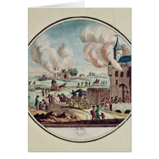 Cartes Le pillage et la destruction des Chateaux