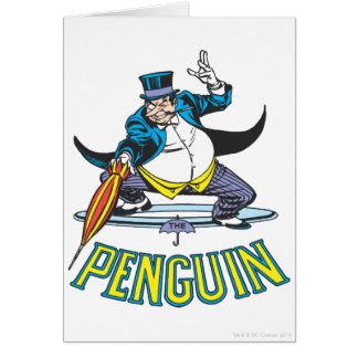 Cartes Le pingouin