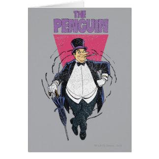 Cartes Le pingouin - graphique affligé