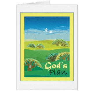 Cartes Le plan de Dieu