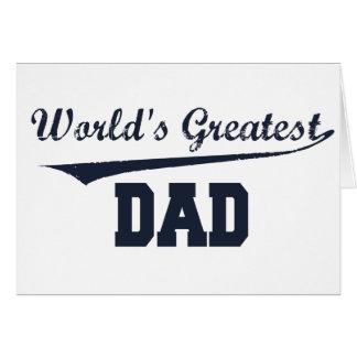 Cartes Le plus grand papa du monde