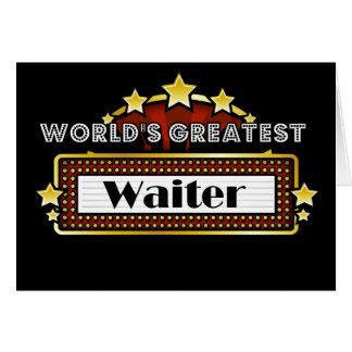 Cartes Le plus grand serveur du monde