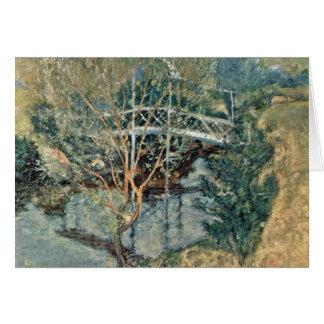 Cartes Le pont blanc par Twachtman John Henry