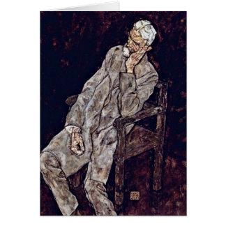 Cartes Le portrait de Johann nuit par Egon Schiele