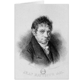 Cartes Le portrait en Jean Baptiste indiquent