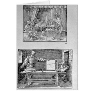 Cartes Le premier livre technique de l'artiste