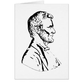 Cartes Le Président Abraham Lincoln