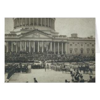 Cartes Le Président Theodore Roosevelt prenant le serment
