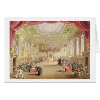 Cartes Le procès, Loi IV, scène I de Charles Kean pro