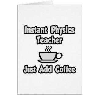 Cartes Le professeur instantané de physique… ajoutent
