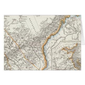Cartes Le Québec, la Nouvelle-Écosse, Nouveau Brunswick