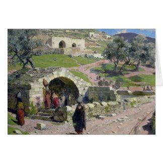 Cartes Le ressort de Vierge à Nazareth, 1882