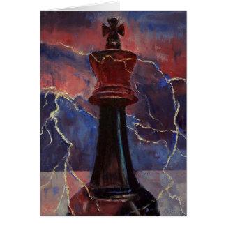 Cartes Le Roi Card d'échecs
