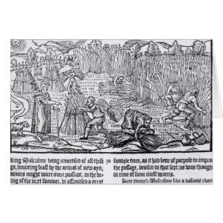 Cartes Le Roi Malcolm de l'Ecosse