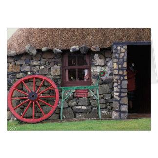 Cartes Le Royaume-Uni, Ecosse, île de Skye, pierre
