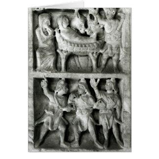 Cartes Le sarcophage de la nativité