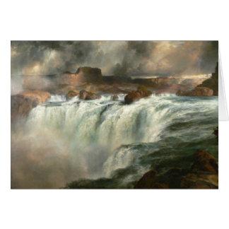 Cartes Le Shoshone tombe sur la rivière Snake - 1900