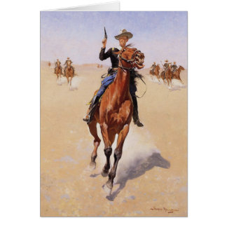 Cartes Le soldat de la cavalerie par Frederic Remington